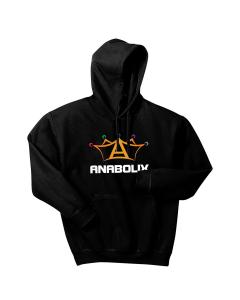 Anabolix Logo Hoodie-Black-S
