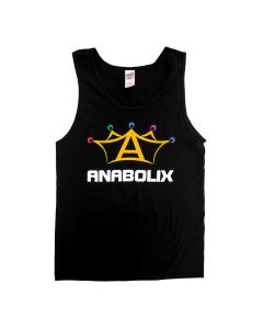 Anabolix Logo Black Tank
