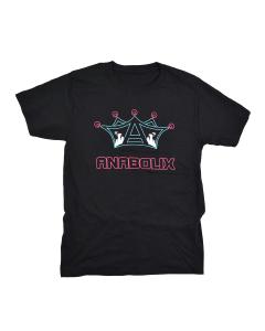 Anabolix Jam Skate T-Shirt - Black-3XL