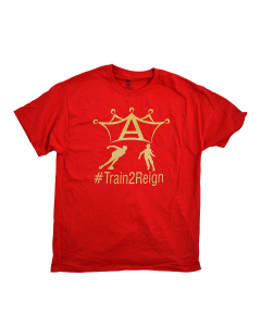 #TrainToReign T-Shirt - Red-L