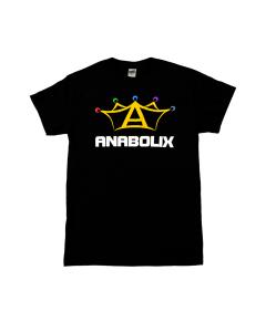 Anabolix Logo Black T-Shirt