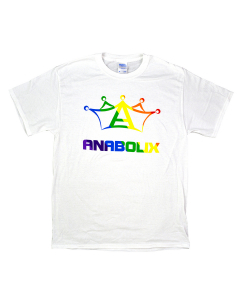 Anabolix Pride Shirt-White-2XL