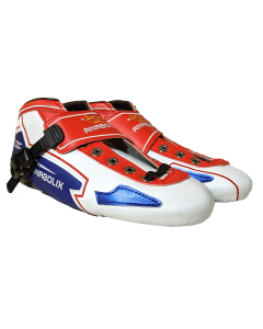 Anabolix Limited Edition Speed Boots - Red / White / Blue - Size 9