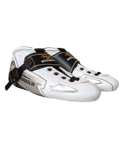 Anabolix Limited Edition Speed Boots - White / Silver- Size 9