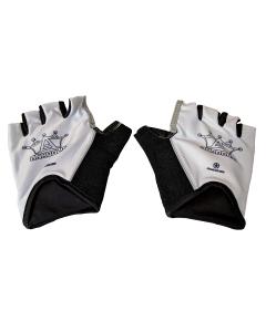 Anabolix Fingerless Roadstar Skate Gloves-Pearl-S