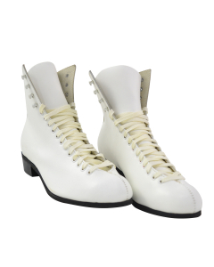 Oberhamer Blue Skate Boots - White