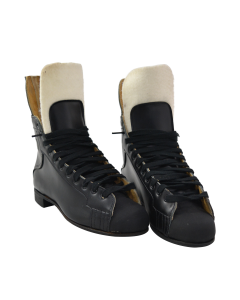 Oberhamer Black Skate Boots (Hockey Boot) - Black