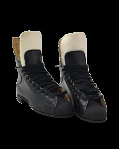 Oberhamer Black Skate Boots (Hockey Boot) - Black