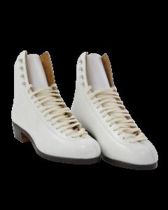 Oberhamer Silver Skate Boots - White - P50