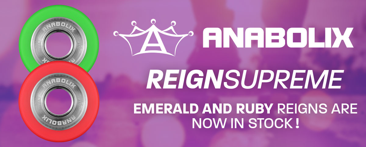 Anabolix Reign Series Emerald and Ruby Wheels Are Back In Stock