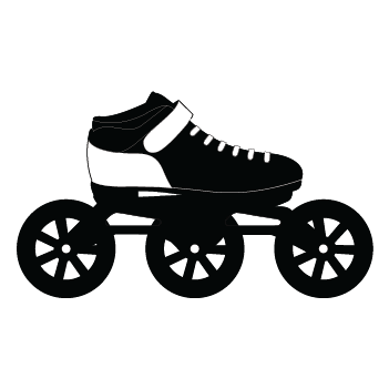Speed Rollerblade Icon