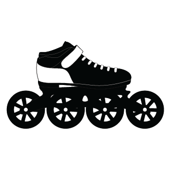 Speed Rollerblade Icon 2